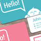 """Hello!"" Card - GraphicRiver Item for Sale"