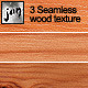 3 Seamless Wood Texture - GraphicRiver Item for Sale