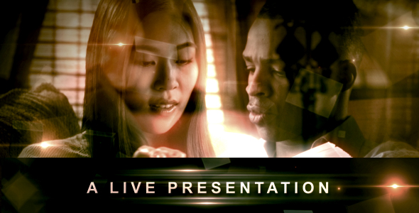 After Effects Project - VideoHive A LIVE Presentation 123083