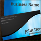 Wave Business Cards - GraphicRiver Item for Sale