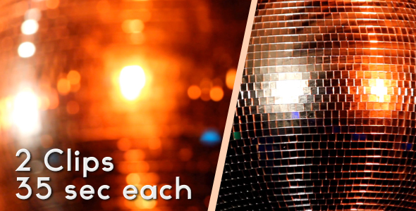 Disco Balls HD Pack VideoHive Stock Footage  Special Events 123168