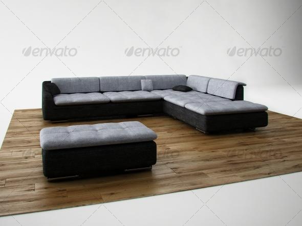3DOcean Sofa 123413