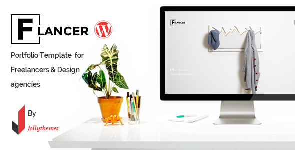 flancer wp theme for freelancers agencies by jollythemes themeforest. Black Bedroom Furniture Sets. Home Design Ideas