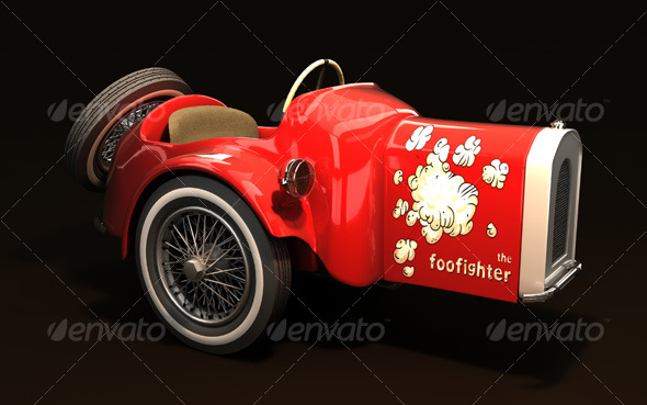 3DOcean Foo Fighter car 3D Models -  Vehicles  Land  Cars 123853