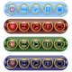 set of media icon buttons  - GraphicRiver Item for Sale