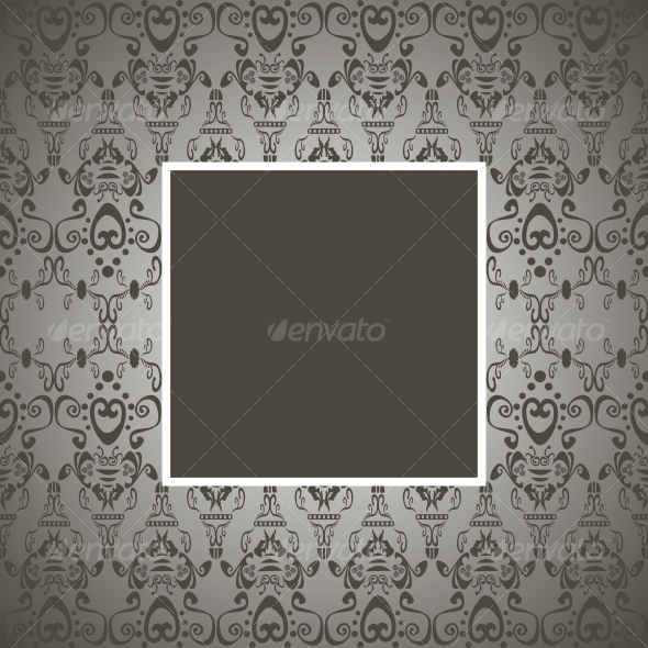 Seamless vector frame - Backgrounds Decorative