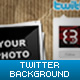 Sticker Twitter Background - GraphicRiver Item for Sale