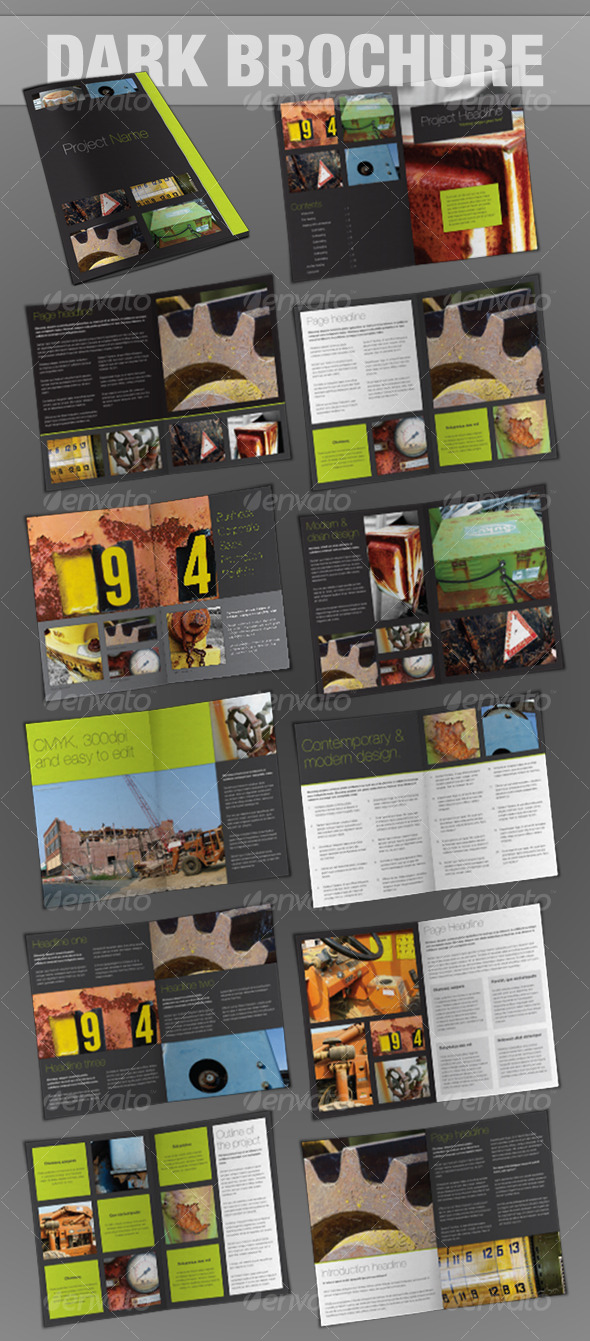 24page brochure - InDesign - Corporate Brochures