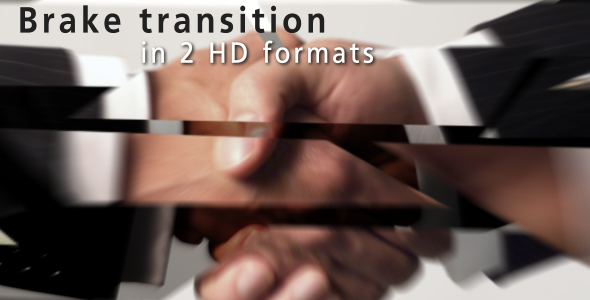 After Effects Project - VideoHive Brake Transition 124296