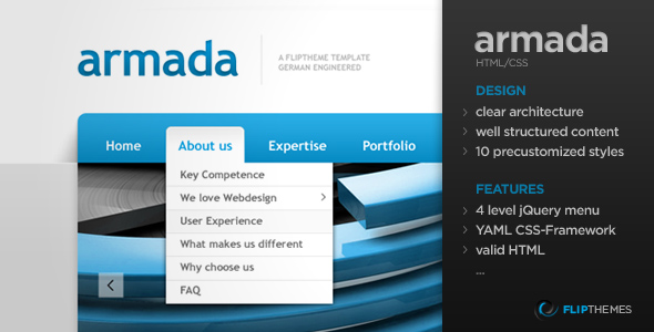 Armada - A flexible Flagship HTML Template