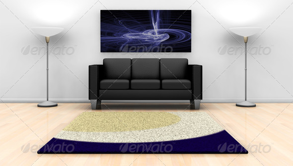 Modern Lounge - Stock Photo - Images