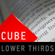 Cube Lower Thirds - VideoHive Item for Sale