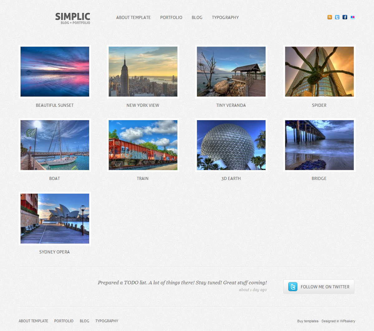 Simplic - Blog and Portfolio WordPress theme