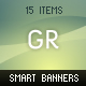 Smart Banners - GraphicRiver Item for Sale