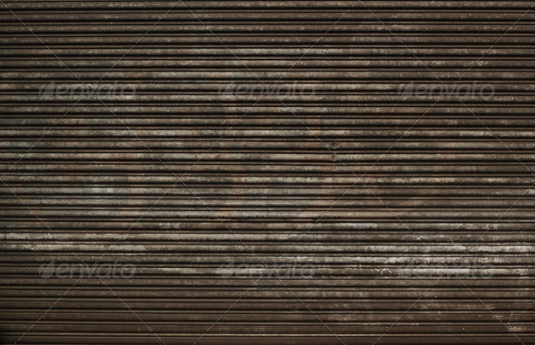 Metal Door - Stock Photo - Images