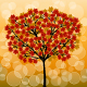 Abstract background with a autumn tree - GraphicRiver Item for Sale