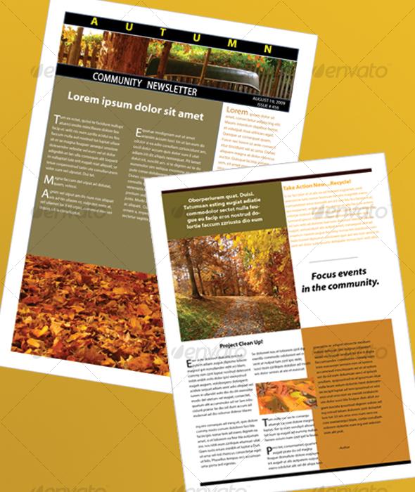 Free metro style newsletter template for Modern newsletter design