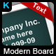 Modern Board - GraphicRiver Item for Sale
