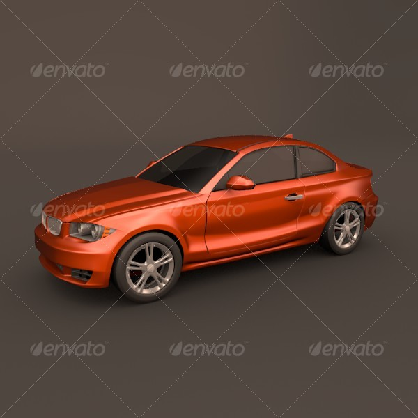 Bmw 1 coupe 3DOcean - Vehicles Land Cars 125984