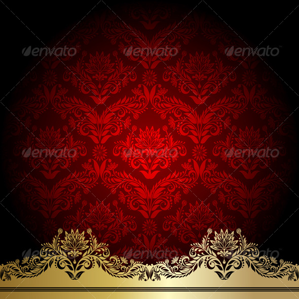 GraphicRiver Red background 126054