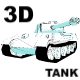 3D TANK - [3D.VECTOR.ANIMATION] - ActiveDen Item for Sale