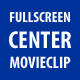 Fullscreen Movieclip Centerer CS3 - ActiveDen Item for Sale