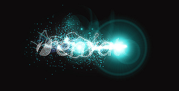 After Effects Project - VideoHive Light Streaks Logo 126293