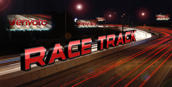 After Effects Project - VideoHive Race Track Titles 01 122037