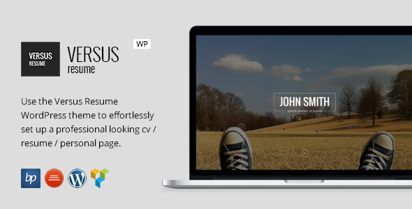 wordpress resume theme resume badak