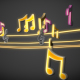 Cool Music Notes loop - VideoHive Item for Sale