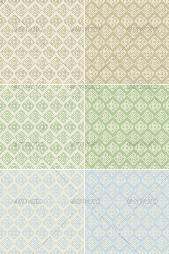 Seamless tile-able wallpapers - Patterns Decorative