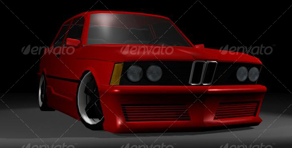 3DOcean BMW E21 126836
