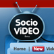 Socio Video Theme - ThemeForest Item for Sale