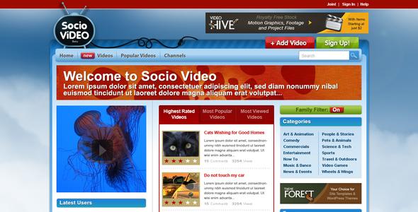 Socio Video Theme