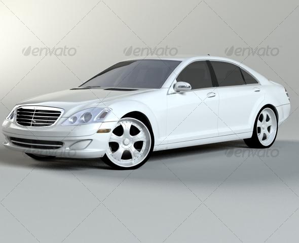 3DOcean Mercedes Benz S class w221 127573