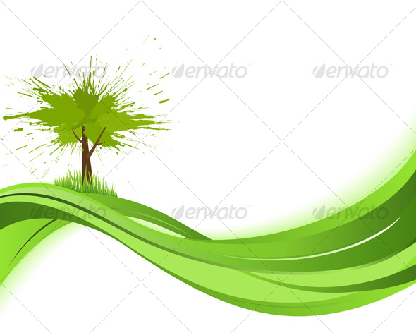 Natare background. Eco concept - Backgrounds Decorative