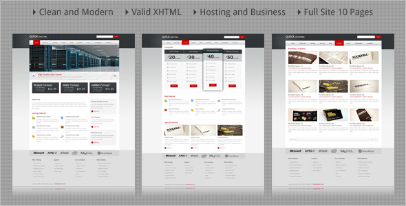 Quick Host - Business and Hosting HTML Template