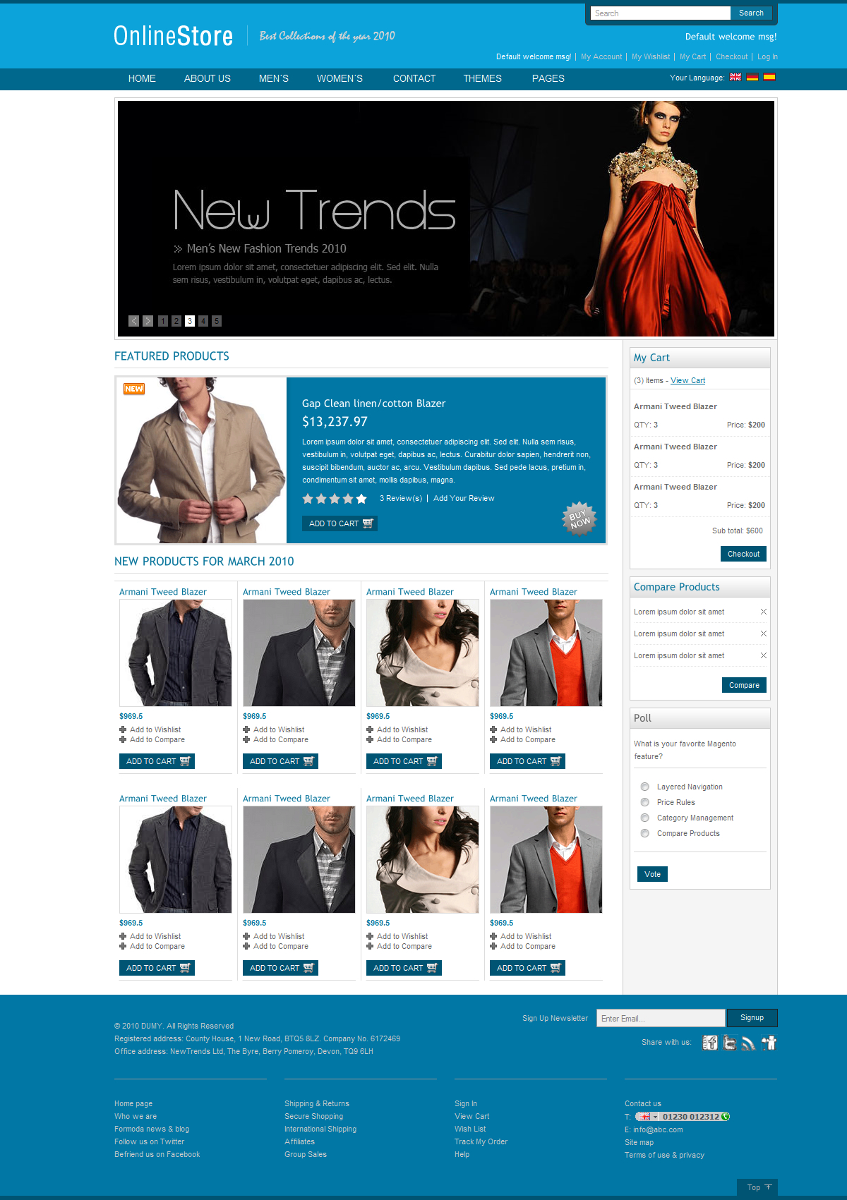 Ecommerce Fashion Store
