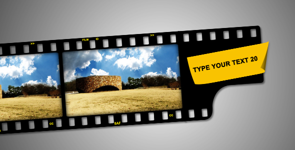 After Effects Project - VideoHive Film Strip V3 128421