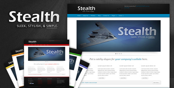Stealth Premium HTML Theme - 6 in 1