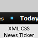 Fully Customizable XML CSS News Ticker - ActiveDen Item for Sale