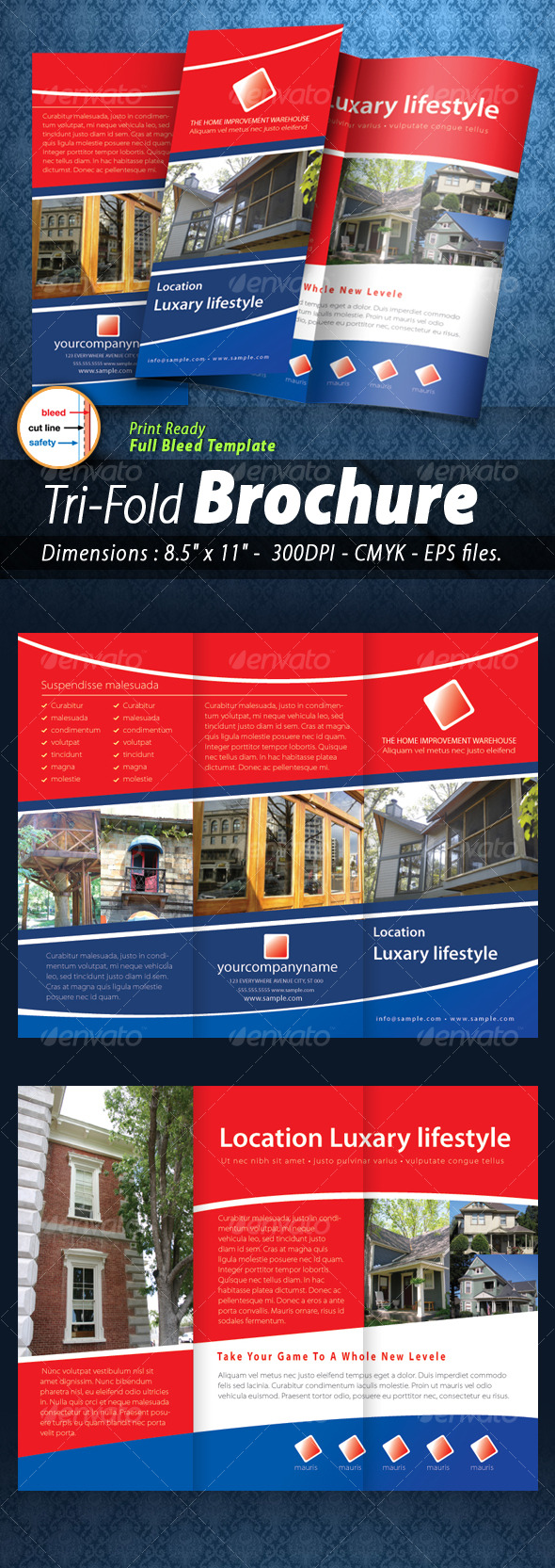 Tri-fold Brochure [Print ready] - Corporate Brochures