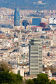 Aerial view of Barcelona from Montjuic - PhotoDune Item for Sale