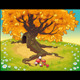 Tree in Autumnal Landscape. - GraphicRiver Item for Sale