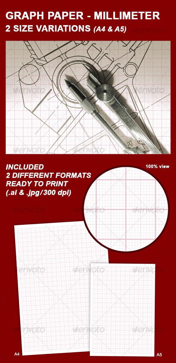 GraphicRiver GRAPH PAPER MILLIMETER 129025