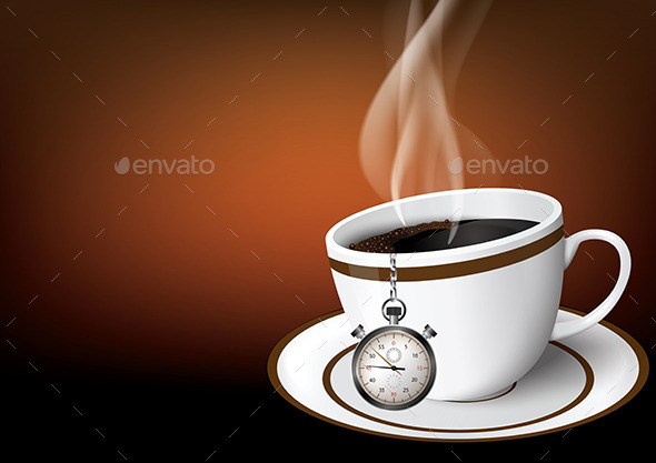 Graphicriver Coffee Time 10128771 Stock Vector Miscellaneous Coffee