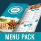 Food Menu Pack-Graphicriver中文最全的素材分享平台