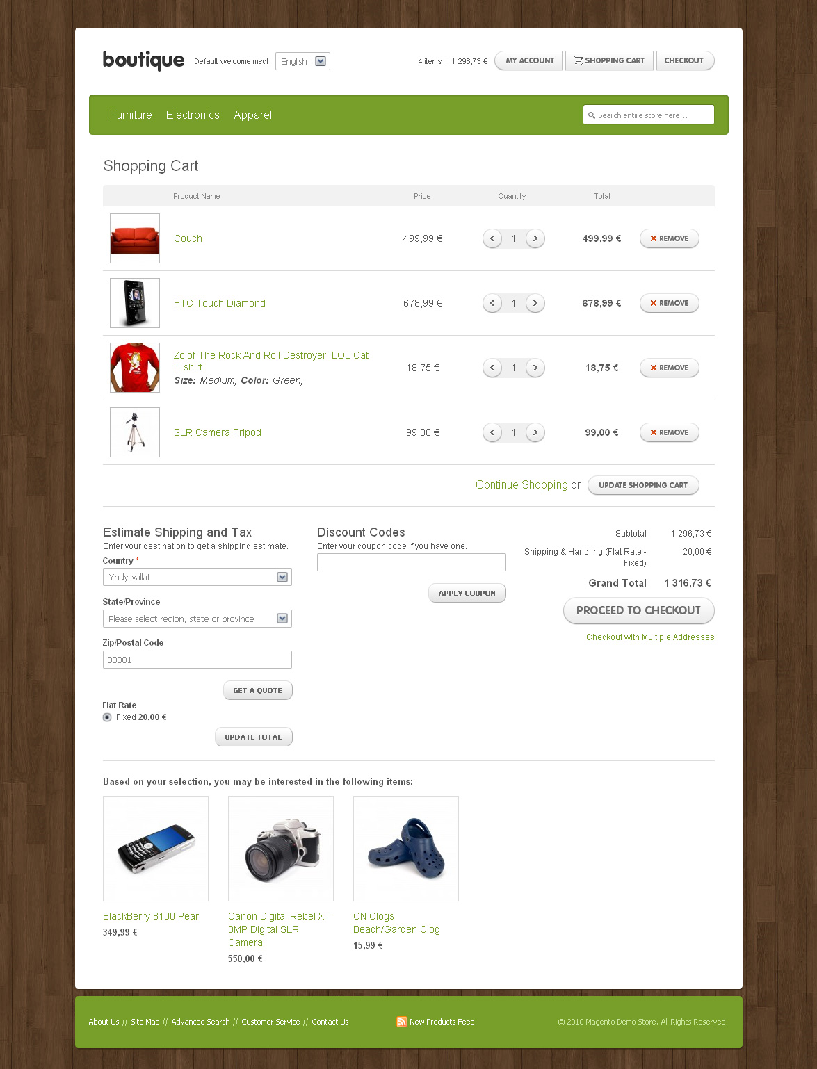 Boutique - Magento Theme