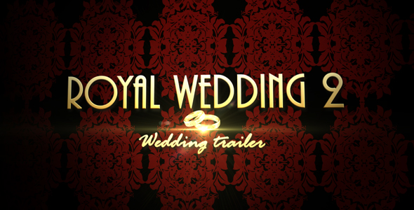 After Effects Project - VideoHive Royal Wedding 2 Wedding trailer 129364
