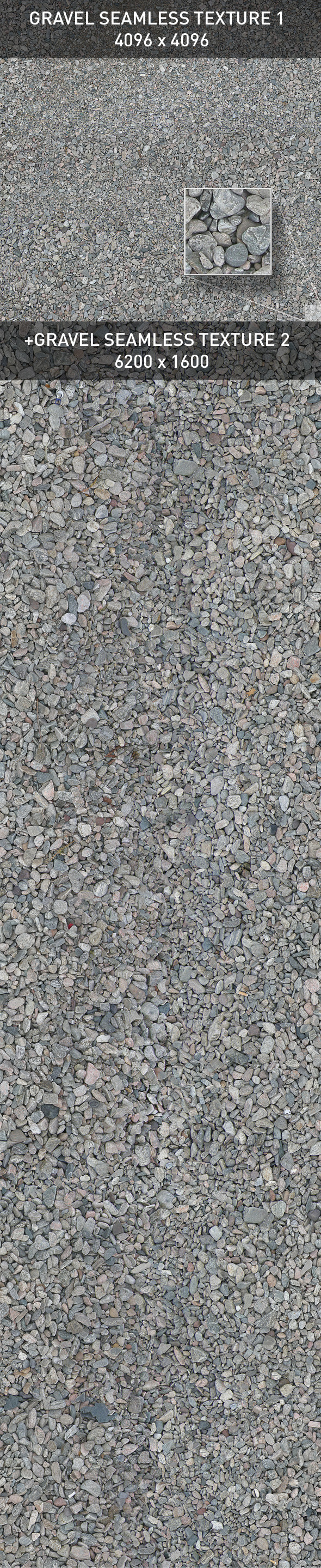 Ground Gravel 2. 3DOcean -  Ground  Pebbles 129381